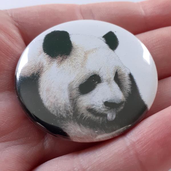 Jessy Megan badge portrait animal Panda main