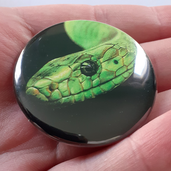 Jessy Megan badge portrait animal Serpent main
