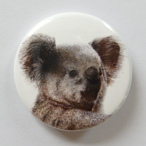 Jessy Megan badge portrait animal Koala
