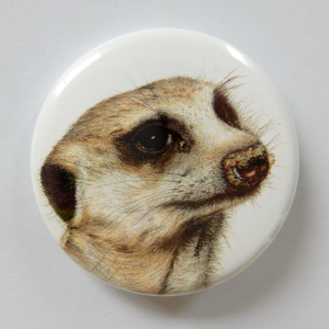 Jessy Megan badge portrait animal Suricate